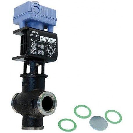Vanne à commande magnétique F55 à raccords filetés Réf. MXG461.32-12 DN : 32 Fonte malléable noire