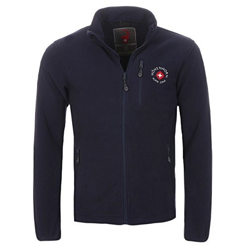 2A5 Höhenhorn Eigler Herren Fleece Jacke Full Zip Navy Gr. S (Full Zip Fleece Navy)