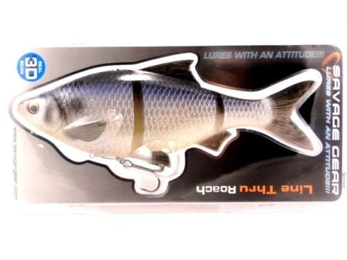 Savage Gear 3D Line Thru 7 Roach Swimbait (Gizzard Shad) by Savage Gear