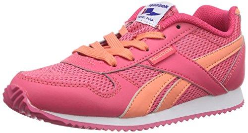 Reebok Royal Classic Jogger, Sneaker bambini Rosa (Pink (Blazing Pink/Coral/White))