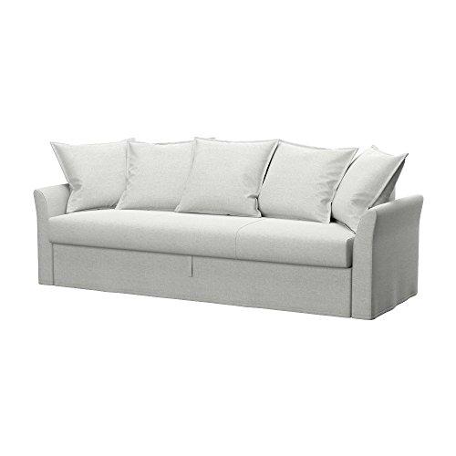 Soferia - IKEA HOLMSUND Funda para sofá Cama de 3 plazas, Classic...