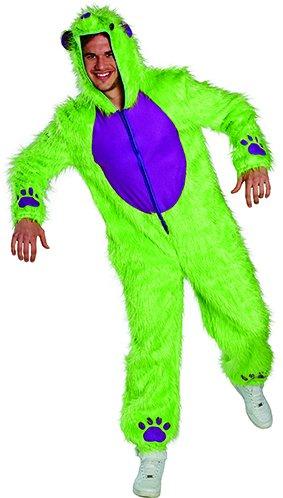 Crazy Bear Bärenkostüm Tunika verrückter Bär Kostüm Unisex (Crazy Bären Kostüm)