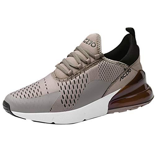 Innerternet Herren Sneaker Freizeit Athletic Flat Running Mesh Straßenlaufschuhe Sportschuhe Turnschuhe Outdoor Leichtgewichts Laufschuhe rutschfeste Atmungsaktive Fitness Schuhe
