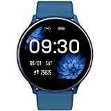 Smartwatch, Fitness Tracker Armbandsur Sport Touch färgskärm Vattentät med sömnmonitor Pulsmätare stegräknare för Ios Android