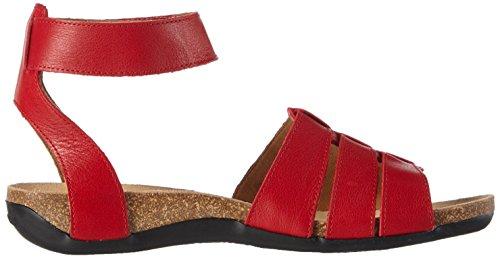 Ganter Giulia, Weite G, Sandales Bride cheville femme rouge (red 4000)