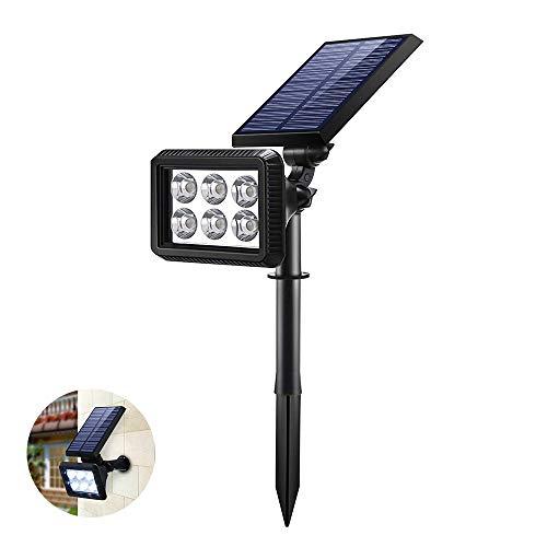 Lámparas Solar, IP64 A Prueba Agua Focos LED Exterior