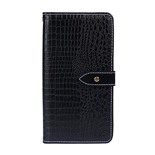 Lenovo P70 - Shell Protector Wallet Style Flip Cover Case for Lenovo P70 ONLY (Lenovo P70 Cover Black)