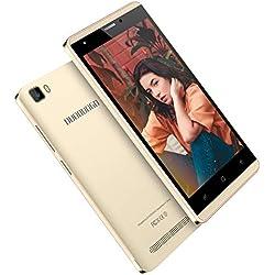 Smartphone Pas Cher 4G, 16Go ROM, J3 (2019) 5.0 Pouces, 5MP Android 7,0 Dual SIM Telephone Portable Debloque 2800mAh WiFi GPS Bluetooth 4.0 Telephone Portable Pas Cher sans Forfait (Or)