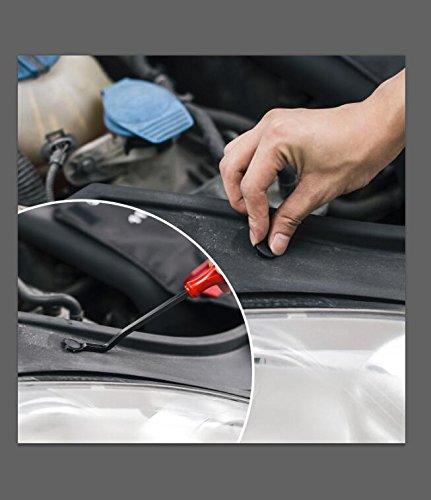 Favoto 350/240/415 pcs Clips Agrafe Plastique Rivets Plastique
