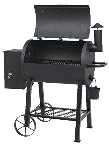 Tepro Grill Smoker 8 Stufen Stahl Räucherofen Pelletgrill 'New Orleans' schwarz