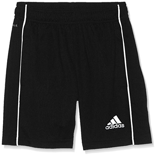 adidas Kinder CORE18 TR Y Shorts CORE18 TR Y CE9030, Schwarz (Black/White), 164 (Herstellergröße: 164) - Adidas Winter-kollektion