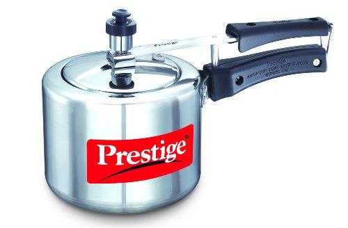 Prestige Nakshatra Plus Induction Base Aluminium Pressure Cooker, 2 Litres  available at amazon for Rs.948