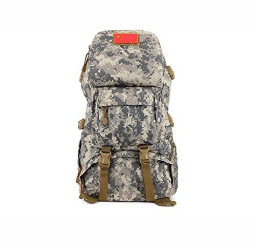 Outdoor Wandern Tarnung Rucksack Herren- Klettern Tasche Multifunktional Daypack ACcamouflage