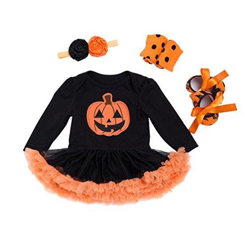 Sronjn mio primo halloween costume della del partito del vestito 4pcs stile 1