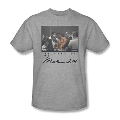 Muhammad Ali–Vintage Photo T-shirt pour homme en Heather - Gris - Large