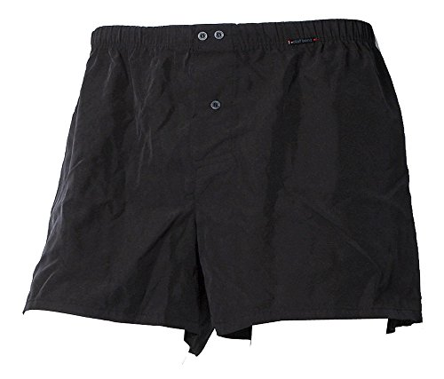 Olaf Benz - PEARL1571 Boxershorts ( reine Seide ) - black / schwarz - Gr.M - Schwarze Seide Boxer Shorts