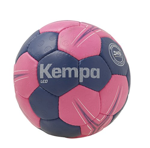 Kempa Leo Basic Profile Ball Handball, Electric lila/pink, 0