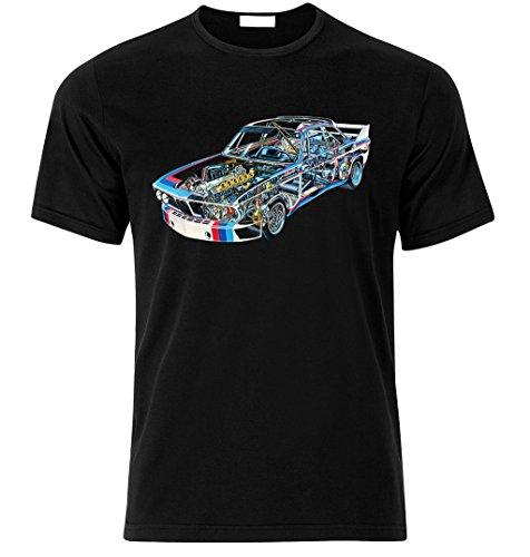 Fan Best Car Auto Fan Tuning Speed Race T-Shirt Size S-XXL (XXL, SCHWARZ)