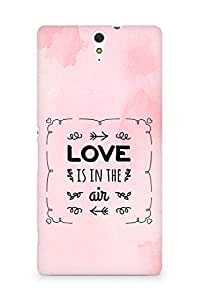 Amez Love is in the Air Back Cover For Sony Xperia C5