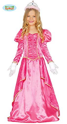 Guirca Rosa Prinzessin Kostüm für Mädchen Gr. 98-134, Größe:110/116