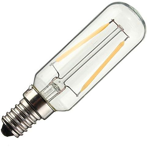 farwind E14T25220V 3W a incandescenza Edison Vintage candela lampada lampadina BIANCO CALDO