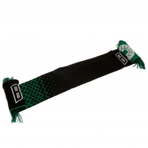 Boston Celtics NBA Basketball Black Green Shamrock Fan Scarf Gift USA Official