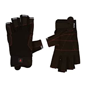 Musto Defender SHORT FINGER Gloves in Black AS0812