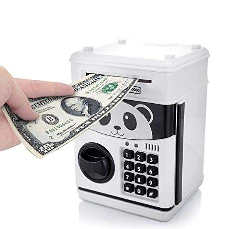 ExcLent Code Lock Electronic Piggy Banks Mini Atm Coin Bank Talking Coin Box For Children Fun Kids Gift Toy -