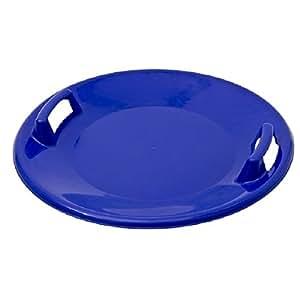 Luge en plastique ronde neige Luge Snow Soucoupe Bleu