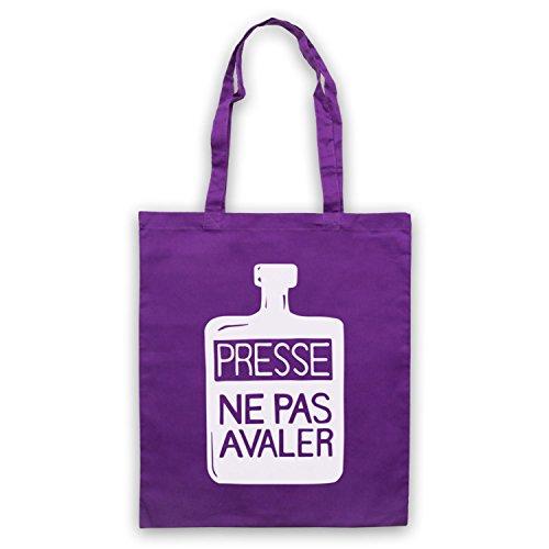 Inspiriert durch Presse Ne Pas Avaler As Worn By Thom Yorke Inoffiziell Umhangetaschen Violett