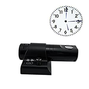 glovion led num rique projection horloge murale bureau projection horloge horloge avec. Black Bedroom Furniture Sets. Home Design Ideas