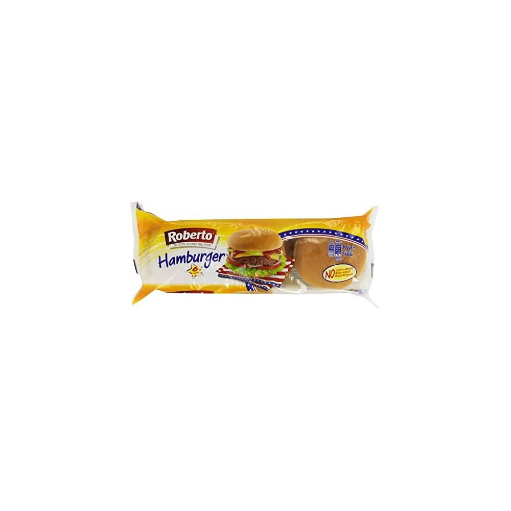 Roberto Hamburger 5 X 6 X 50g 1500g Weizenbrtchen Mit Palml Zur Zubereitung Fr Hamburger