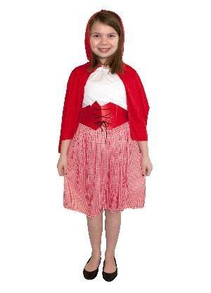 Kinder fancydress wie Rotkäppchen Kostüm Outfit Jahre 4-6 (Baby Little Red Riding Hood Kostüme)