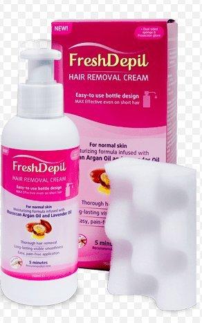 FreshDepil Haarentfernungscreme, 150ml