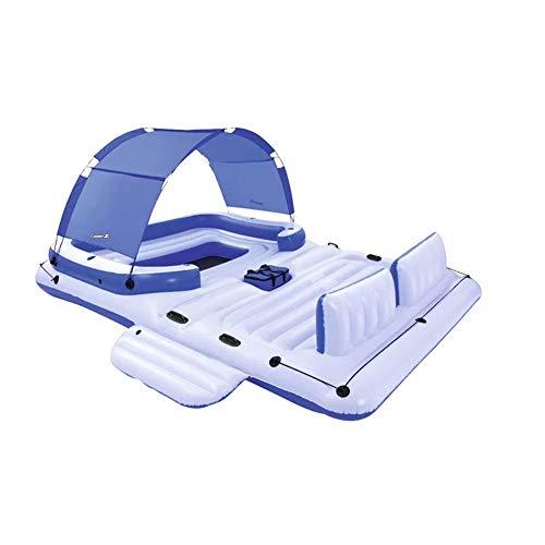 KIKBLW Erwachsene schwimmende Sich hin- und herbewegende Reihe, Marineparadies-Stuhl-Sich hin- und herbewegende Reihe Sich hin- und herbewegende Bett-Sommer-Rest-Erwachsene Kinder-Wasser-Spielwaren