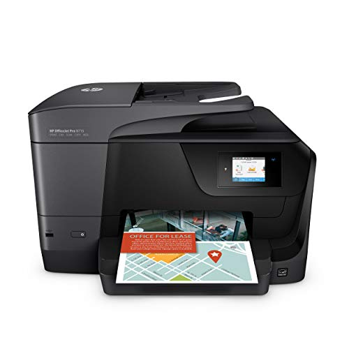 HP OfficeJet Pro 8715 Multifunktionsdrucker (Instant Ink, Drucker, Scanner, Kopierer, Fax, WLAN, LAN, Duplex, Airprint) mit 3 Probemonaten HP Instant Ink inklusive -