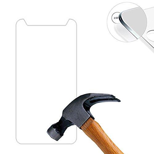 Lusee® 2 X Pack Panzerglasfolie Tempered Glass Hartglas Schutzfolie für Archos 45B Neon 4.5 Zoll Premium Screen Folie Protector Ultra Hart Bildschirmschutz 0,3mm 9H Clear 2.5D