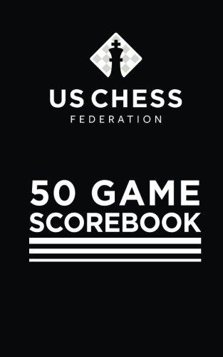 50 Game Scorebook - Soft Cover - Black