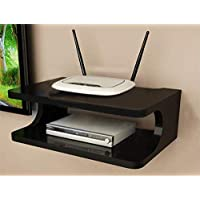 Dime Store Setup Box Stand / Set Top Box Stand Wall Mount for Home Wall Shelf for Holding Speakers WiFi Router Game…