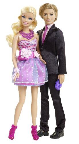 Mattel X4878 - Barbie und Ken Geschenkset, inklusive 2 Puppen