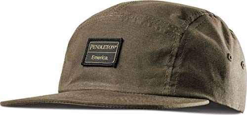Emerica Pendleton 5 Panel Camp Hat -Fall 2018-(6140001109-301) - Olive - One Size