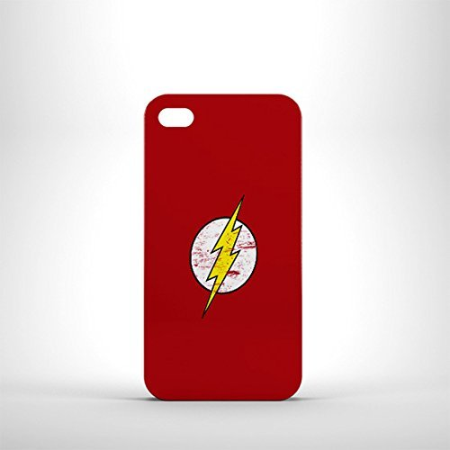 The Big Bang Theory inspiré Storm Case iPhone 4 Rouge