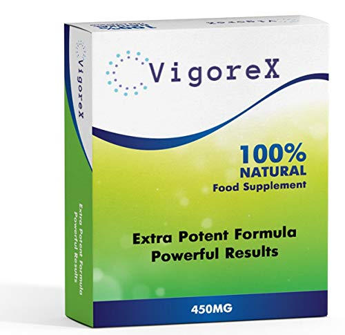Premium Ultra Strong VigoreX - Extremely Effective 450mg Ginseng Complex Herbal Supplement for Men - Performance, Energy, Stamina & Endurance, 100% Natural Remedy for Men Risk Free!