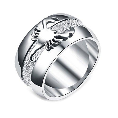 DALARAN Skorpion Ringe für Frauen Gothic Schmuck für Männer Zubehör