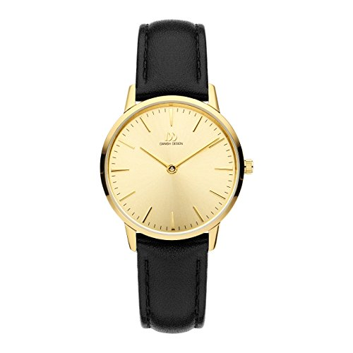 Danish Design Reloj Analógico para Mujer de Cuarzo con Correa en Cuero IV19Q1251