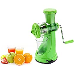 Primelife Plastic LL-01-2 Fruit and Vegetable Juicer, Green