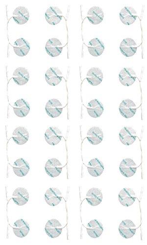 Healthcare World ® de la Ronda 32 Tens electrodos de desfibrilación Tens Almohadillas para el TPN Tenscare NeuroTrac máquinas Flexi Tens