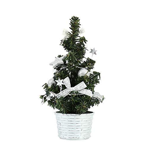 45119db3d9b Surfmalleu Mini Árbol de Navidad Artificial Ramos Naturales Realistas Pino  Decoración de Navidad 20cm 30cm 40cm