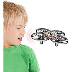 SYMA X100 Mini Drohne UFO RC Quadcopter Nano Kleine Drone Kinder Spielzeug Ferngesteuert 2,4 GHz 4CH 6-Achsen-Gyro RTF Quadrocopter