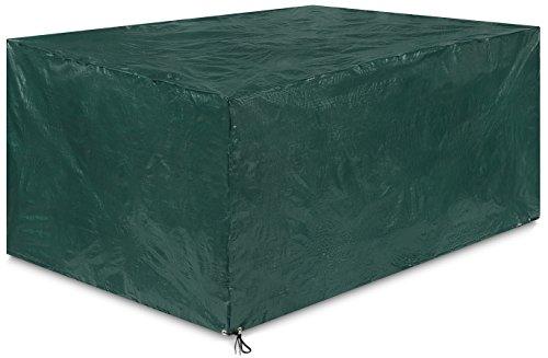 Springreen Abdeckung Gartenmöbel Universalabdeckung Zum Schutz von Gartenmöbel [200 x 160 x 100 cm] | Wasserabweisend und UV schützend